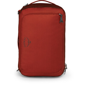 Osprey Transporter Global Carry-On 38 Travel Pack ruffian red